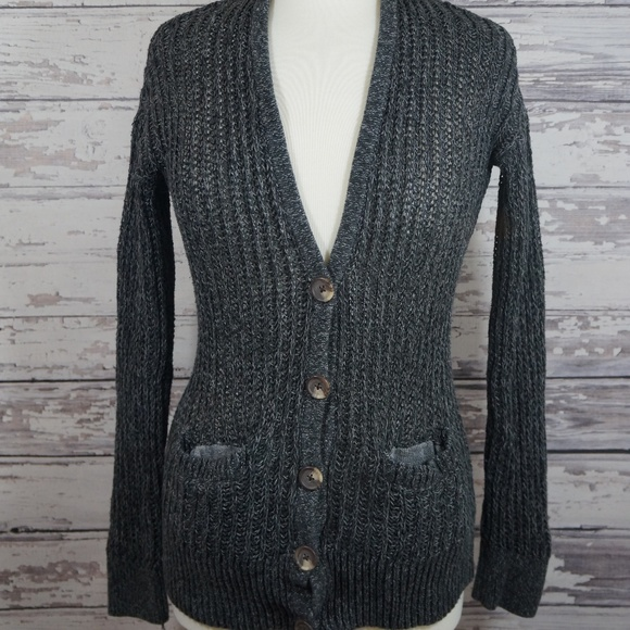 d3c6ffaaea American Eagle Outfitters Sweaters - Sale American Eagle chunky knit button  up cardigan